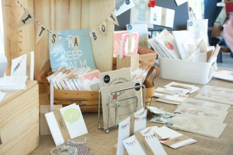 Papercut booth